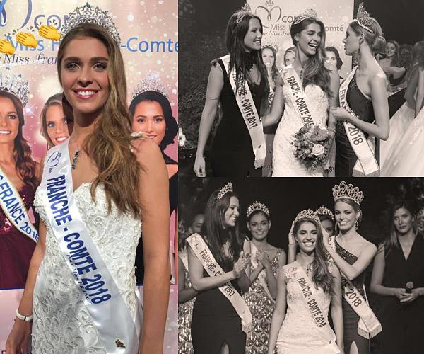 Miss Franche Comté 2018 est  Lauralyne Demesmay