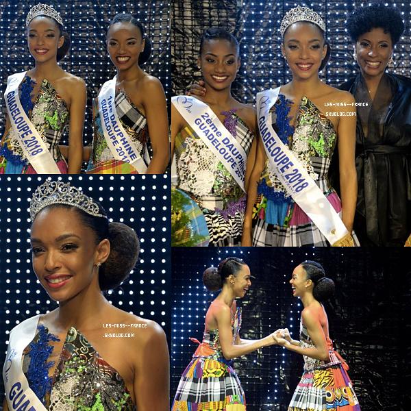 Miss Guadeloupe 2018 est Ophély Mezino