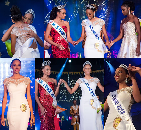 Miss Guyane 2018 est Laureline Decocq