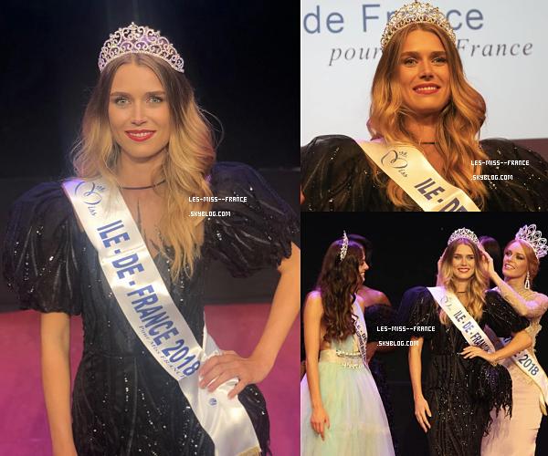 Miss Île de France 2018 est Alice Quérette