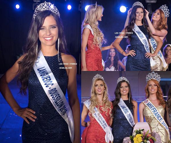 Miss Languedoc-Roussillon 2018 est Lola Brengues