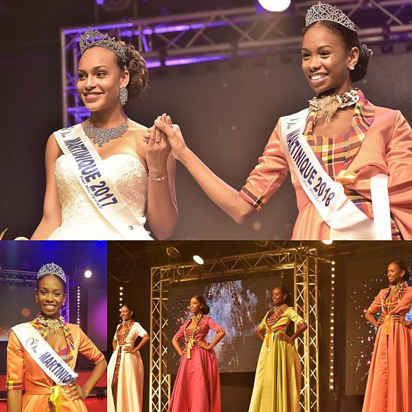 Miss Martinique 2018 est Olivia Luscap