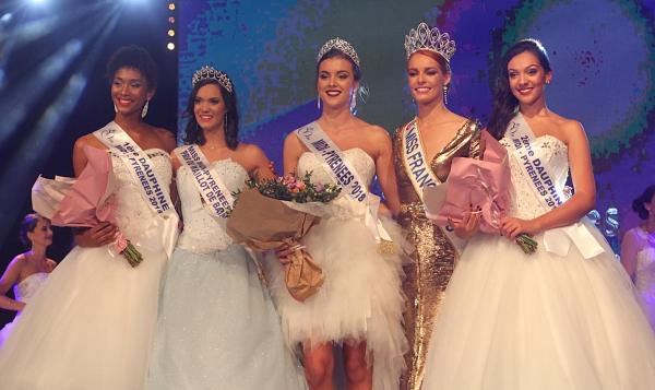 Miss Midi-Pyrénées 2018 est Axelle Breil