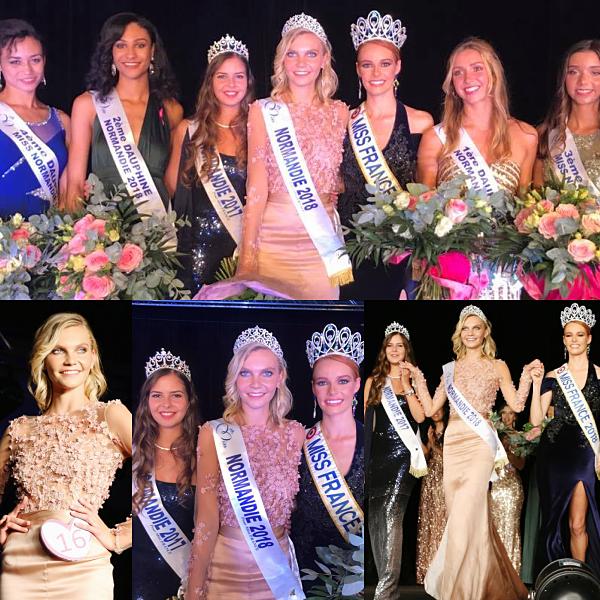 Miss Normandie 2018 est Anaëlle Chrétien