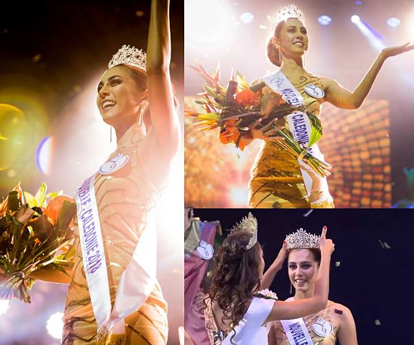 Miss Nouvelle Calédonie 2018 est Amandine Chabrier