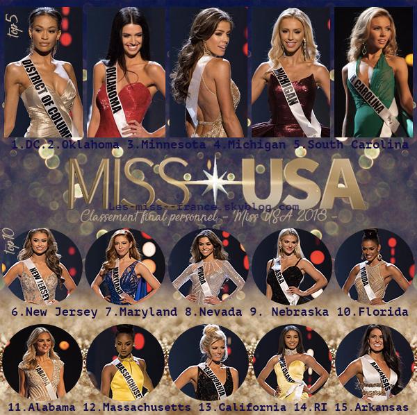 L'élection de Miss USA c'est dans la nuit du 21 mai !