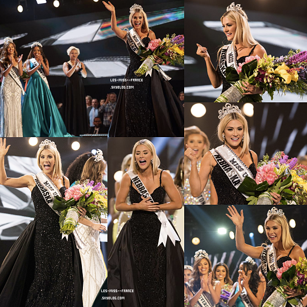 Miss USA 2018 est Miss Nebraska !