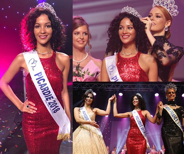 Miss Picardie 2018 est Assia Kerim