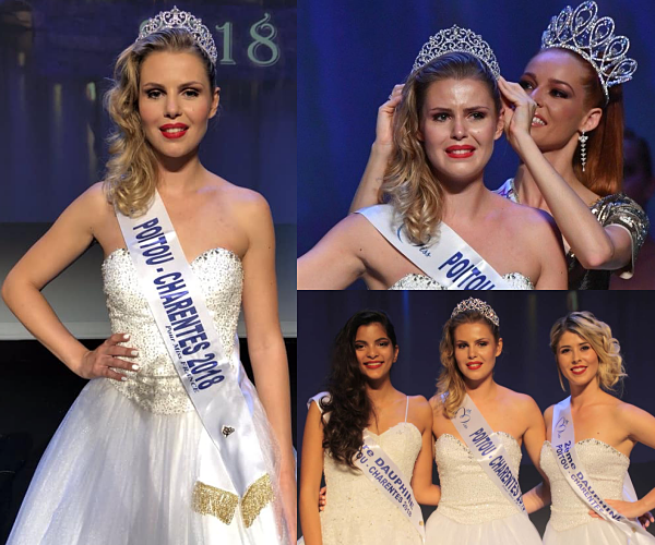Miss Poitou-Charentes 2018 est Marion Sokolik