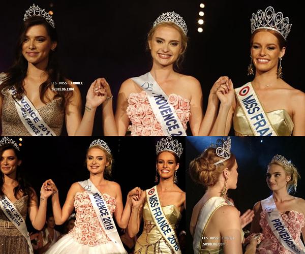 Miss Provence 2018 est Aurélie Pons