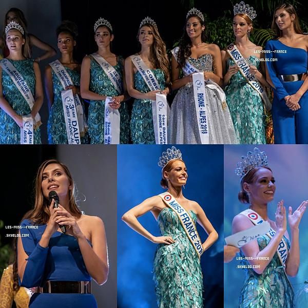 Miss Rhône Alpes 2018 est Pauline Ianiro