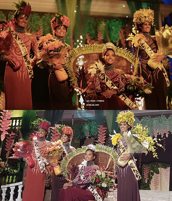 Miss Tahiti 2018 est Vaimalama Chaves