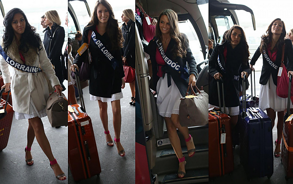 Jour 1 et 2 :  L'aventure Miss France 2013 commence enfin !
