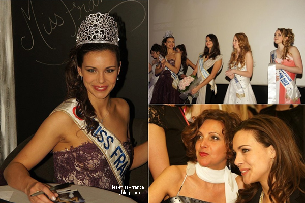 ELECTION -- Marine était à l'élection de Miss Dreux-Agglo 2013, le 23 mars. Elle a également assistée à l'élection de Miss Yvelines 2013.