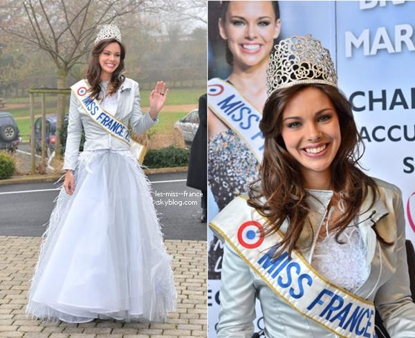 SORTIE -- Marine Lorphelin était de retour chez elle à Charnay-les-Mâcon en Bourgogne, le 19 décembre.