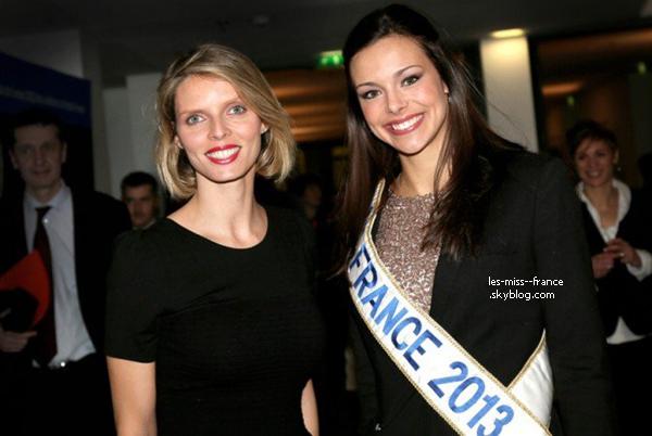 SORTIE -- Marine Loprhelin a remis le prix du meilleur sportif français 2012, à Paris le 14 janvier 2013.