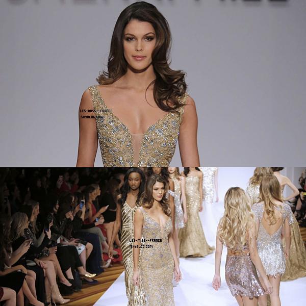 13 Fév. 2017 | Premier défilé pour Iris pour la Fashion Week de New York