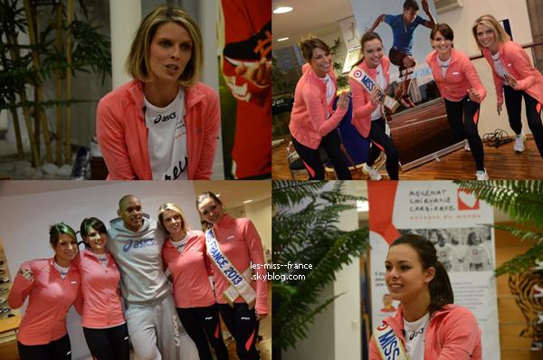PHOTOS -- Découvrez de nouvelle photos de Marine lors de son séjour à Megève avec les autres Miss. Article Gala