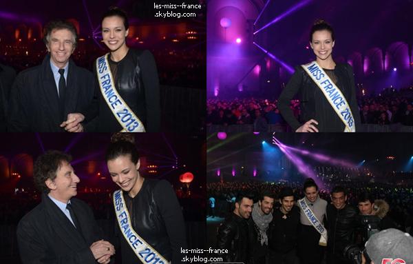 SORTIE -- Le 25 février Marine, Alexandra et Sylvie était à la soirée d'anniversaire des 20 ans de Gala, à l'Olympia, à Paris.