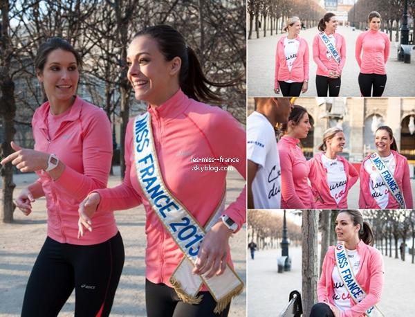 SORTIE -- Marine Lorphelin et Sophie  Thalmann étaient à la 64e cérémonie des Cravaches d'Or, ce mercredi 3 avril.