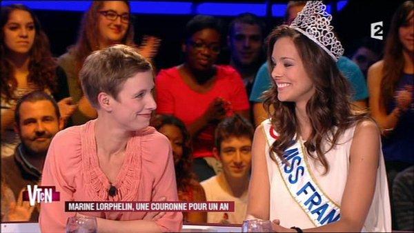 """Télévision -- Diffusion des """"12 coups de noël"""" avec Marine Lorphelin, le 24 décembre au soir."""