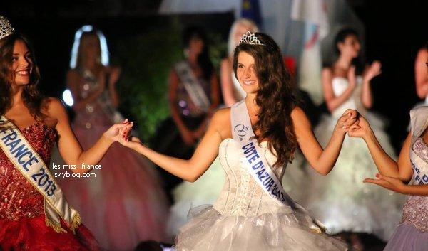 Miss Côte d'Azur 2013 est Aurianne Sinacola