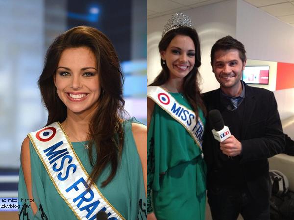 """Télévision -- Marine Lorphelin était dans l'émission """"Faut pas rater ça"""" sur France 4, le 12 décembre."""