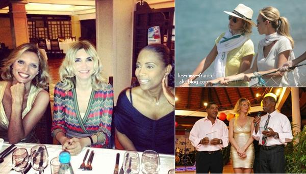 12 mai 2013 | Sylvie Tellier, est depuis quelques jours invitée en voyage en Martinique par le Comité Martiniquais du Tourisme.