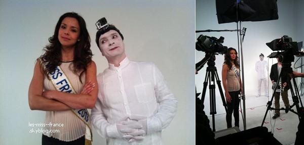 15 Mai 2013 | Marine Lorphelin était en tournage aujourd'hui pour Le Vinvinteur.