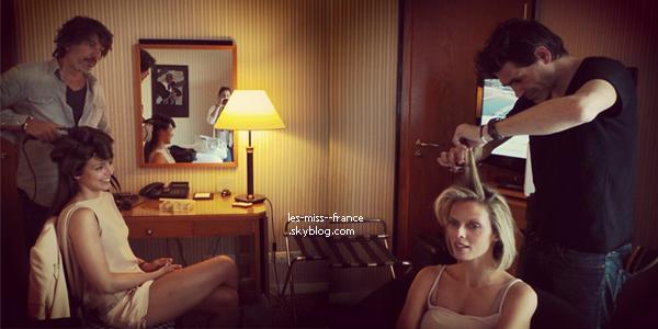 SORTIE -- Le 25 mai Marine et Sylvie étaient à une soirée organisée par Magnum à Cannes.