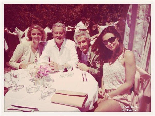 EVENTS -- Marine Lorphelin est se soir au Festival de Cannes avec Alain Delon !