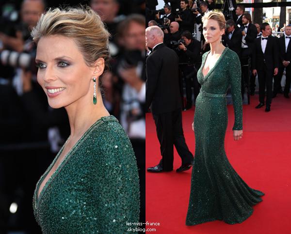 EVENTS -- Sylvie Tellier était sur le tapis rouge du Festival de Cannes.