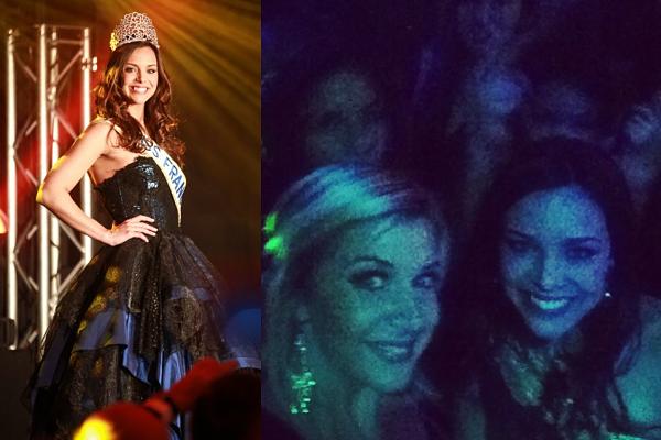 SORTIE-- Marine a assiste au Gala de Cluny, accompagnée par Julie Jacquot (Miss Rhône-Alpes) et Charlène Michaut (Miss Franche-Comté).