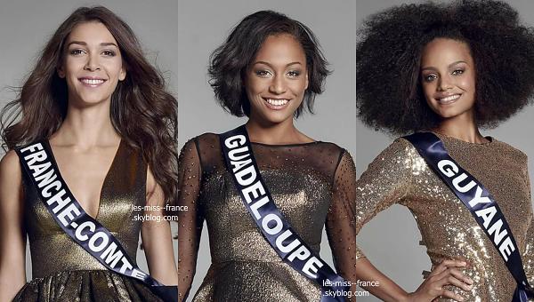 Partie 1 | Découvrez le portrait de 15 nouvelles candidates à Miss France 2017