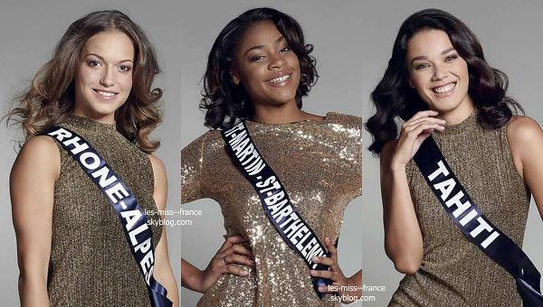 Partie 2 | Découvrez le portrait de 15 nouvelles candidates à Miss France 2017
