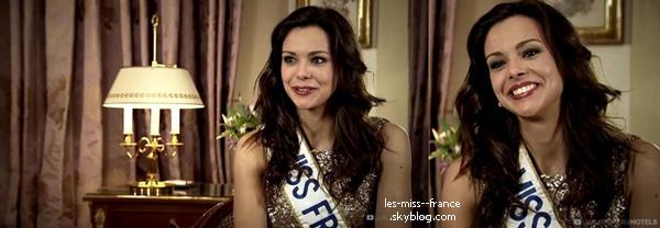 ELECTION -- Marine Lorphelin était à l'élection de Miss Montpellier, le 22 juin 2013.