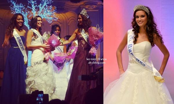 Miss Iles de France 2013 est Laetitia Vuillemard