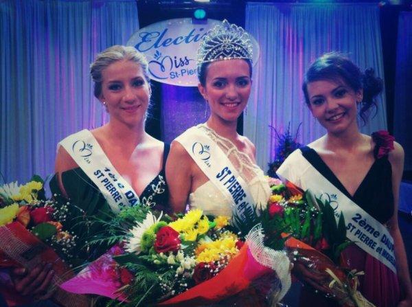 Miss Saint-Pierre-et-Miquelon 2013 est Clio Vitorri