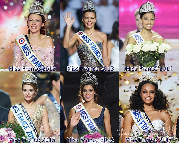 Quelle est votre Miss favorite ? Qui sont vos Miss favorites ?