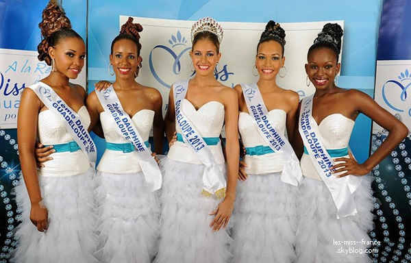 Miss Guadeloupe 2013 est Chloé Deher