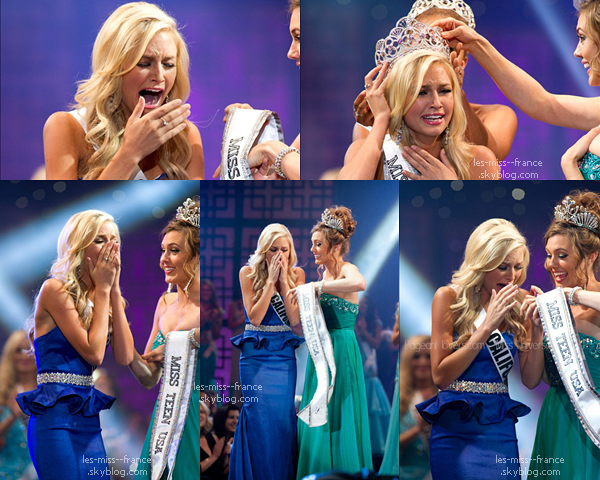 Miss Teen Usa 2013 est Miss Californie !