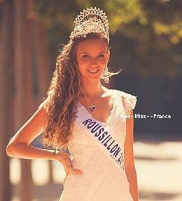 Sabine Banet remplace Norma Julia et devient par la suite la nouvelle Miss Roussillon 2013