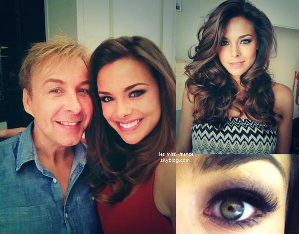 PRÉPARATION -- Marine est actuellement en préparation pour Miss Monde 2013