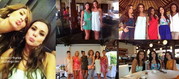 PRÉPARATION -- Jour 2 : Marine va tourner une vidéo personnelle pour Miss Monde.