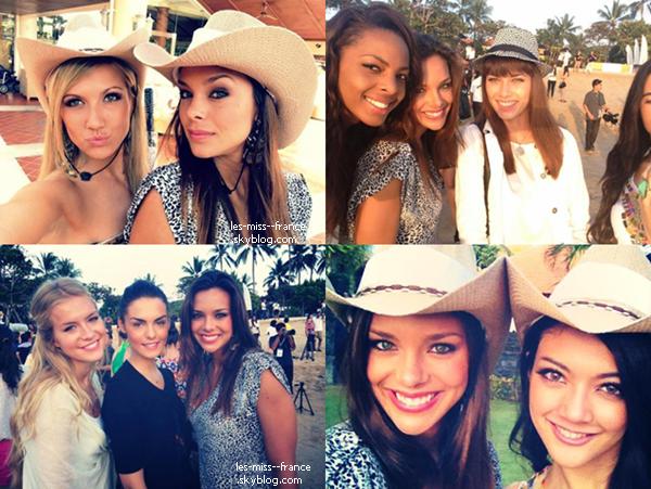 PRÉPARATION -- Jour 6 : Marine était à la cérémonie d'ouverture de Miss Monde 2013.