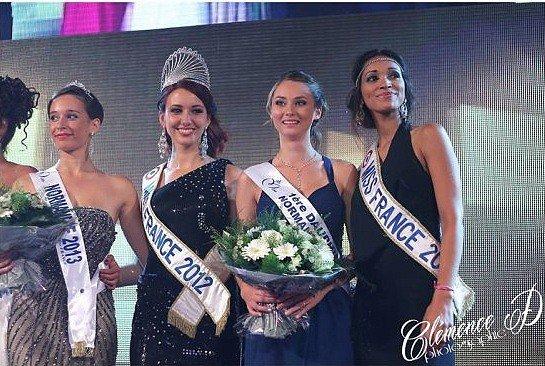 Miss Normandie 2013 est Ophélie Genest