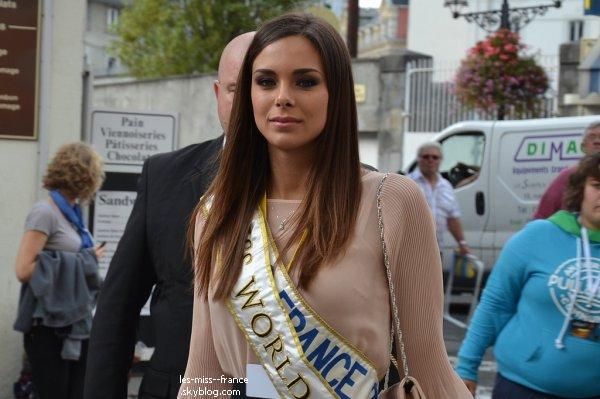 SORTIE -- Marine était à Lourdes, en visite à l'Accueil Marie Saint-Frai, pour rencontré les malades.