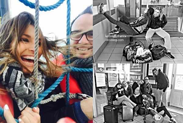 19 Mai 2015 | Camille, Laury, Rachel, Alexandra et Sylvie étaient en tournages pour Fort Boyard.