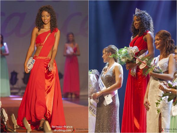 Miss Orléanais 2013 est Flora Coquerel
