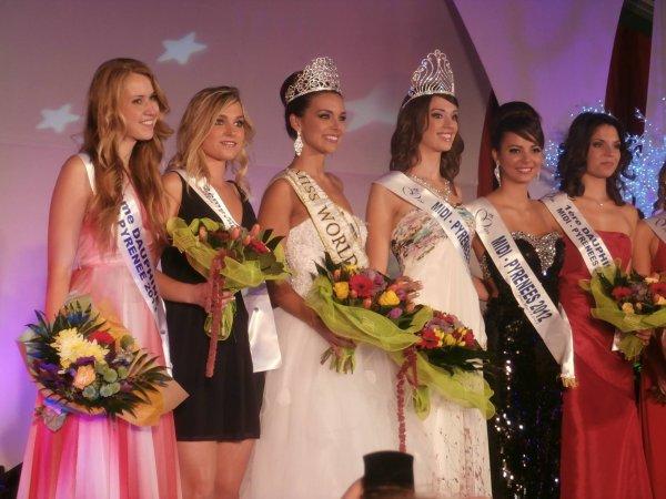 Miss Midi Pyrénées 2013 est Audrey Bernés